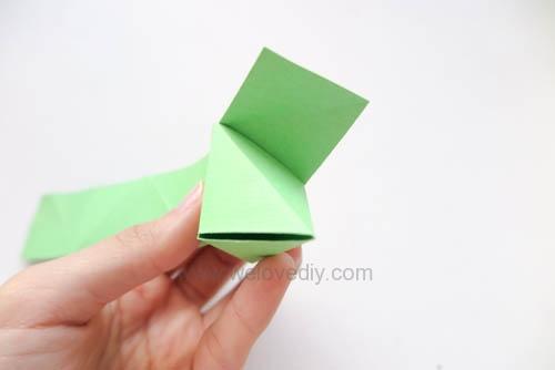 DIY 端午節手作摺紙粽子手工吊飾教學 (10)