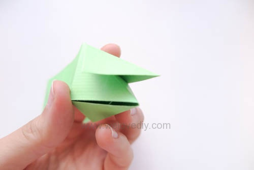 DIY 端午節手作摺紙粽子手工吊飾教學 (11)