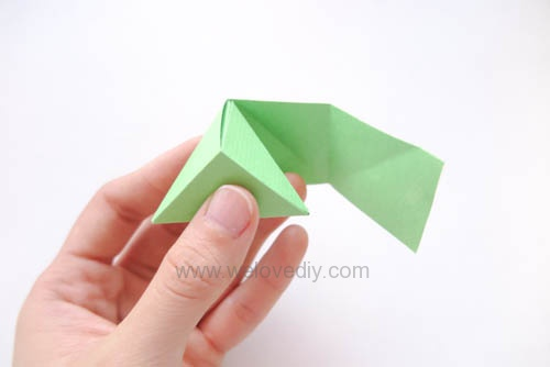 DIY 端午節手作摺紙粽子手工吊飾教學 (12)