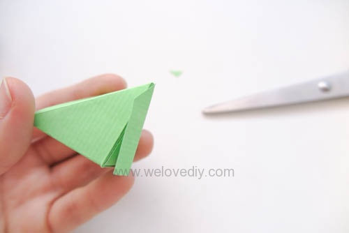 DIY 端午節手作摺紙粽子手工吊飾教學 (14)