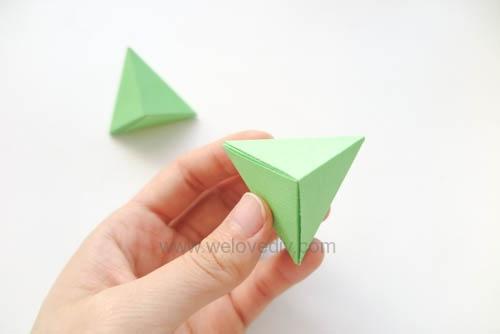 DIY 端午節手作摺紙粽子手工吊飾教學 (16)