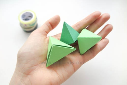 DIY 端午節手作摺紙粽子手工吊飾教學 (17)