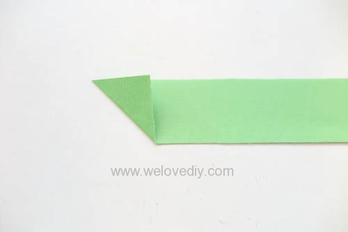 DIY 端午節手作摺紙粽子手工吊飾教學 (3)
