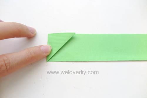 DIY 端午節手作摺紙粽子手工吊飾教學 (4)
