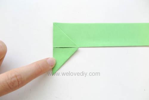 DIY 端午節手作摺紙粽子手工吊飾教學 (6)