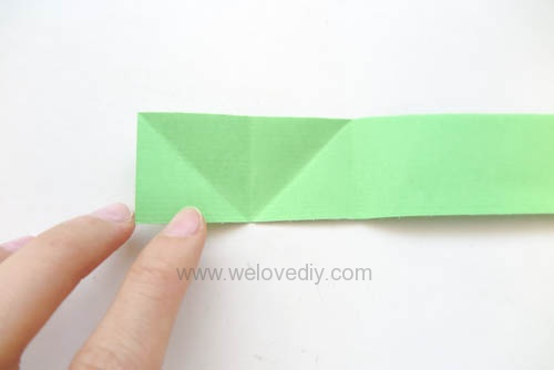 DIY 端午節手作摺紙粽子手工吊飾教學 (7)