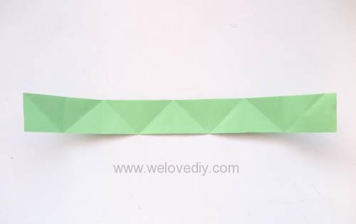 DIY 端午節手作摺紙粽子手工吊飾教學 (8)