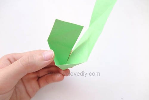 DIY 端午節手作摺紙粽子手工吊飾教學 (9)