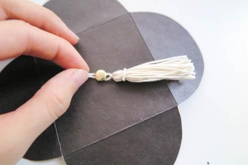 DIY 畢業季學士帽手工立體信封卡片 (10)