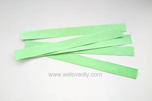 DIY 端午節幾何圖形紙做吊飾 (1)