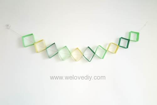 DIY 端午節幾何圖形紙做吊飾 (11)