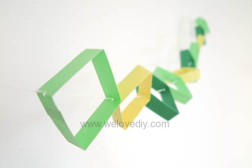 DIY 端午節幾何圖形紙做吊飾 (12)