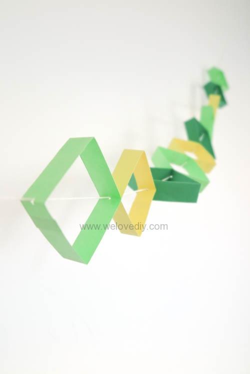 DIY 端午節幾何圖形紙做吊飾 (13)