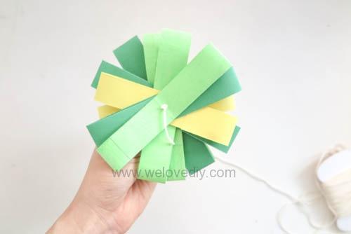 DIY 端午節幾何圖形紙做吊飾 (14)