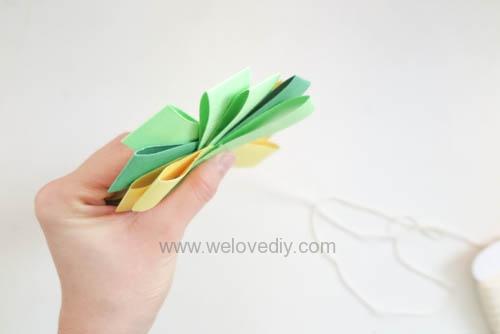 DIY 端午節幾何圖形紙做吊飾 (15)