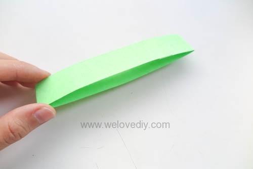 DIY 端午節幾何圖形紙做吊飾 (3)