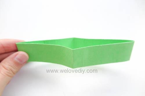 DIY 端午節幾何圖形紙做吊飾 (4)