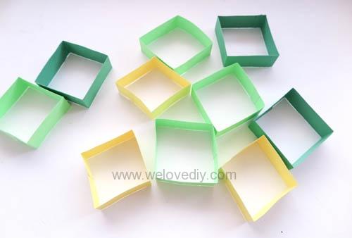 DIY 端午節幾何圖形紙做吊飾 (6)
