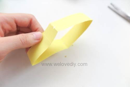 DIY 端午節幾何圖形紙做吊飾 (8)