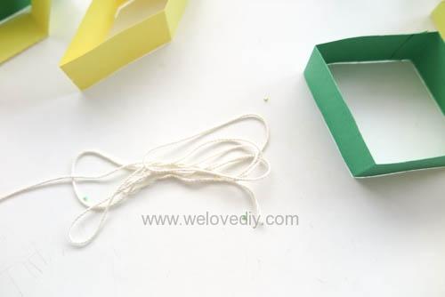 DIY 端午節幾何圖形紙做吊飾 (9)