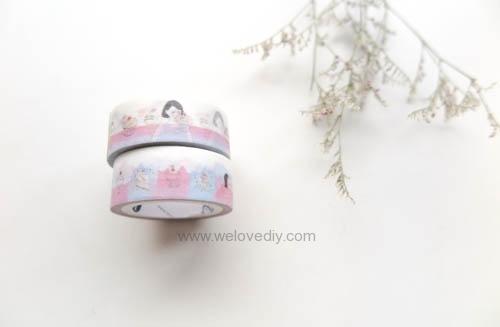 DIY washi tape 日本和紙膠帶 牆壁相片相框 Let's Create 愛藝享台灣創作人 欣蒂小姐 白日夢