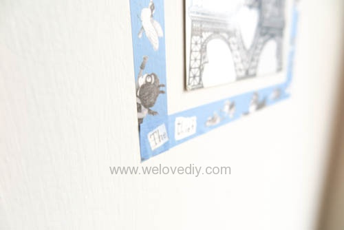 DIY washi tape 日本和紙膠帶 牆壁相片相框 Let's Create 愛藝享台灣創作人 (14)