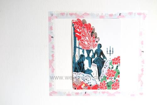 DIY washi tape 日本和紙膠帶 牆壁相片相框 Let's Create 愛藝享台灣創作人 (19)