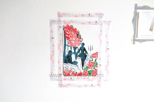 DIY washi tape 日本和紙膠帶 牆壁相片相框 Let's Create 愛藝享台灣創作人 (20)