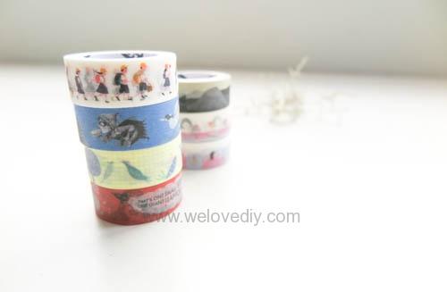 DIY washi tape 日本和紙膠帶 牆壁相片相框 Let's Create 愛藝享台灣創作人 (30)