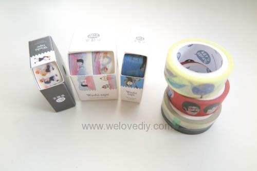 DIY washi tape 日本和紙膠帶 牆壁相片相框 Let's Create 愛藝享台灣創作人 (4)