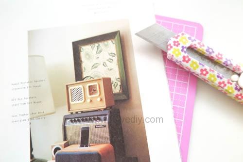 DIY washi tape 日本和紙膠帶 牆壁相片相框 Let's Create 愛藝享台灣創作人 (7)