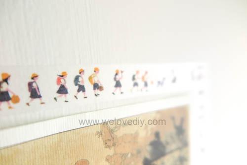 DIY washi tape 日本和紙膠帶 牆壁相片相框 Let's Create 愛藝享台灣創作人 (9)