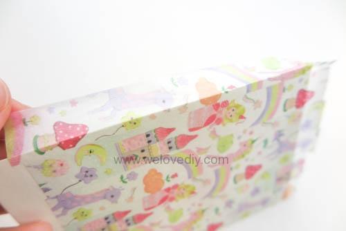 DIY 平面信封變身可愛禮物紙袋 Let's Create 愛藝享紙膠帶 (12)