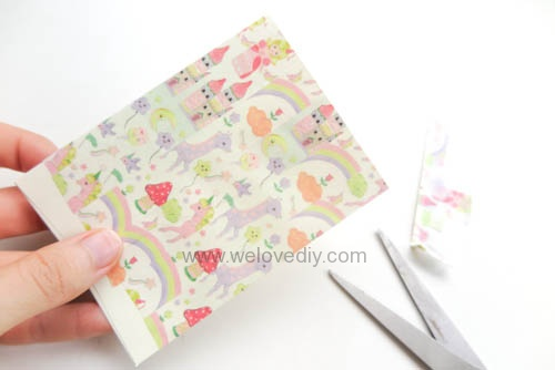 DIY 平面信封變身可愛禮物紙袋 Let's Create 愛藝享紙膠帶 (13)
