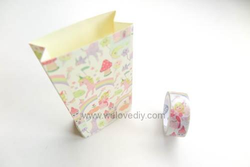 DIY 平面信封變身可愛禮物紙袋 Let's Create 愛藝享紙膠帶 (14)