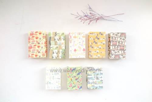 DIY 平面信封變身可愛禮物紙袋 Let's Create 愛藝享紙膠帶 (17)