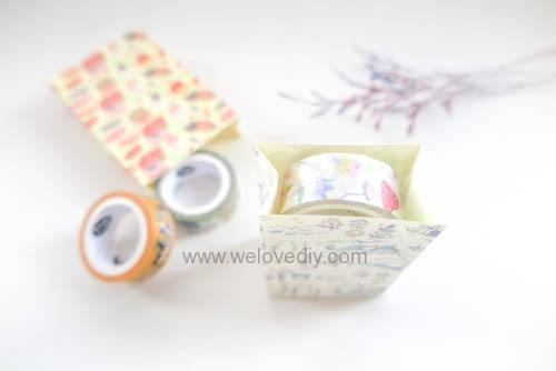 DIY 平面信封變身可愛禮物紙袋 Let's Create 愛藝享紙膠帶 (20)
