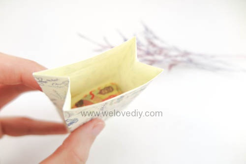 DIY 平面信封變身可愛禮物紙袋 Let's Create 愛藝享紙膠帶 (21)