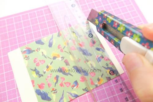 DIY 平面信封變身可愛禮物紙袋 Let's Create 愛藝享紙膠帶 (4)