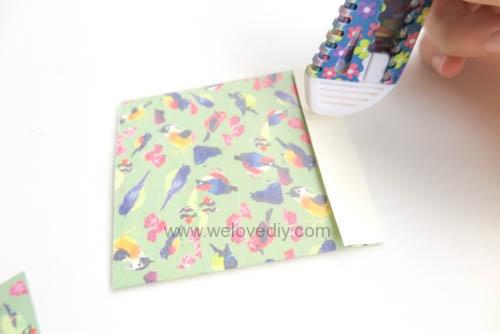 DIY 平面信封變身可愛禮物紙袋 Let's Create 愛藝享紙膠帶 (6)