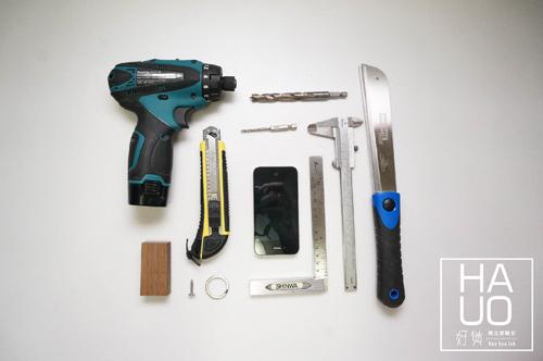 DIY 木作雜貨 小木料多用鑰匙圈 Hao Huo 好貨 (1)