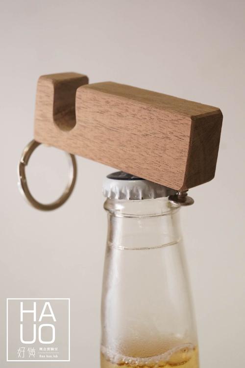 DIY 木作雜貨 小木料多用鑰匙圈 Hao Huo 好貨 (12)