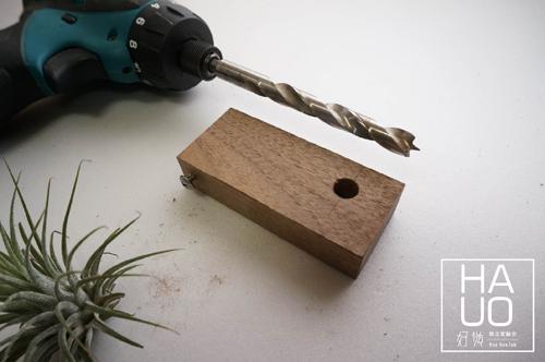 DIY 木作雜貨 小木料多用鑰匙圈 Hao Huo 好貨 (5)