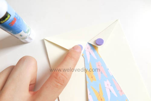 DIY 父親節 襯衫領帶禮物包裝親子手工卡片 (1)