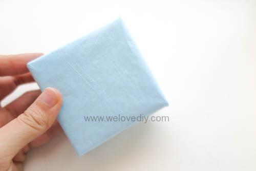 DIY 父親節 襯衫領帶禮物包裝親子手工卡片 (2)