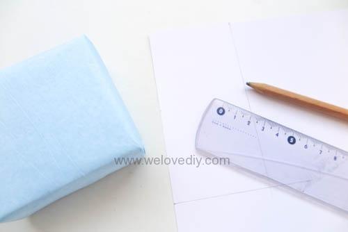 DIY 父親節 襯衫領帶禮物包裝親子手工卡片 (3)