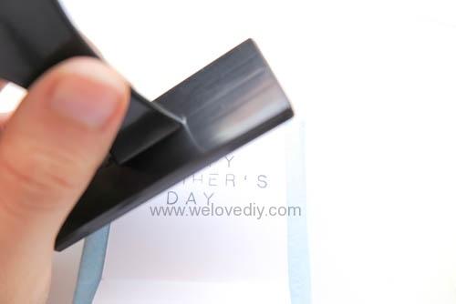DIY 父親節 襯衫領帶禮物包裝親子手工卡片 (9)