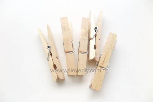 DIY 親手手作小小兵造型木頭木質曬衣夾教學 (15)