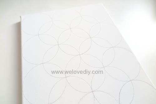 DIY Circle Pattern 手繪無縫相交幾何圓形圖案 (10)
