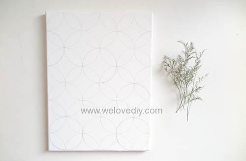 DIY Circle Pattern 手繪無縫相交幾何圓形圖案 (13)